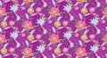 Flower pattern 72 Stock Images