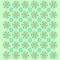 Creative Flower Pattern Background - Vector