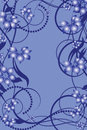 Flower pattern decoratively Stock Image