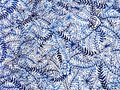 Flower pattern,minimal watercolor painting hand drawn japanese style Royalty Free Stock Photo