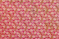 Flower pattern paper Royalty Free Stock Photo