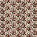 Flower pattern seamless vintage tropical Royalty Free Stock Photo
