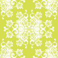 Flower pattern vector seamless background with flowers Royalty Free Stock Photography