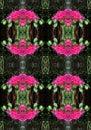 FLOWER POSY REPEAT PATTERN