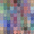 Flower rags pattern Stock Photo