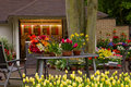 Flower Shop In Keukenhof Garden