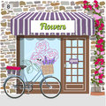 Flower shop. Royalty Free Stock Photo