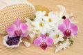 Flower Spa Treatment Royalty Free Stock Images