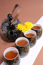 Flower tea Stock Images