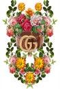 Flower tropical ornamen gucci 42