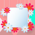 Flower Vector background Royalty Free Stock Photo
