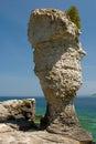 Flowerpot Island Royalty Free Stock Photo