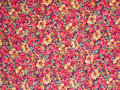 Flowers background flower pattern printed cloth as a Royalty Free Stock Photo
