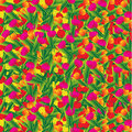 Flowers background with red yellow and purple Royalty Free Stock Photography