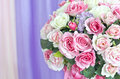 Flowers bouquet arrange for decoration colorful Royalty Free Stock Photos