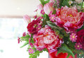 Flowers bouquet arrange for decoration in home file of Stock Photo