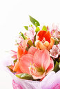 Flowers bouquet in the vase Royalty Free Stock Photo