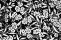Flowers design fabric Royalty Free Stock Photos