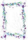 Flowers Flourish Frame_eps