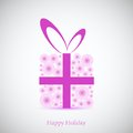 Flowers gift for your holiday vector background best choice Royalty Free Stock Image