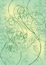 Flowers green leaf Стоковая Фотография