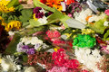 Flowers at martin place a photograph of placed after the sydney siege in december on – december a lone gunman man haron monis Stock Images