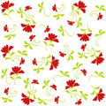 Flowers pattern Royalty Free Stock Images