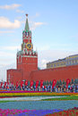 Flowers on the Red Square