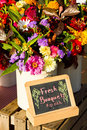 Flowers for sale Royalty Free Stock Photo