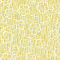 Flowers seamless repeat pattern Stock Images