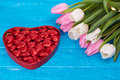 Flowers, Valentines Day And Ho...