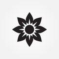 Flowers vector icon illustration graphic design.