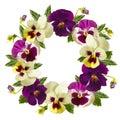 Flowers Wreath.