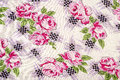 Flowery Table Cloth Stock Photos
