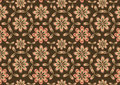 Flowes abstract pattern Stock Photo