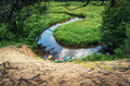 Flowing stream Royalty Free Stock Photo