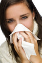 Flu Royalty Free Stock Photo