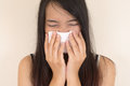 Flu cold allergy symptom or Royalty Free Stock Image