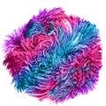 Fluffy ball Royalty Free Stock Photo