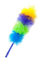 Fluffy brush to clean the dust Stock Images