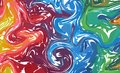 Fluid colorful shapes background. Rainbow Trendy gradients. Fluid shapes composition. Abstract Modern Liquid Swirl Marble flyer de