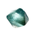 Fluorite Crystal Stock Photo