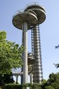 Flushing Meadows Corona Park Towers Royalty Free Stock Photo
