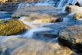 Flusso roccioso Immagini Stock Libere da Diritti