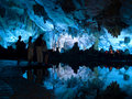 Flute cavern in Guiling Royalty Free Stock Photography