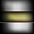 Fluted metal texture. Royalty Free Stock Photography