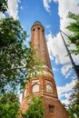 Minaret of Yivli Minare Mosque in Antalya. Turkey Royalty Free Stock Photo