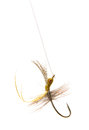 Fly fishing lure Royalty Free Stock Photography