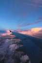 Fly in the sky go to trang thailand Stock Image