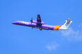 Flybe Bombardier Q400 Royalty Free Stock Photo